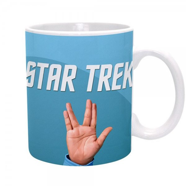Star Trek - Keramik Tasse - Spock Sublimation