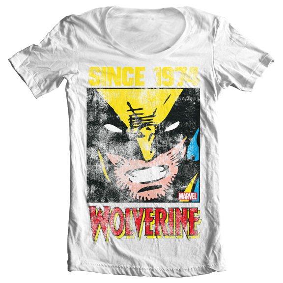 Wolverine X-Men Since 1974 Damen T-Shirt