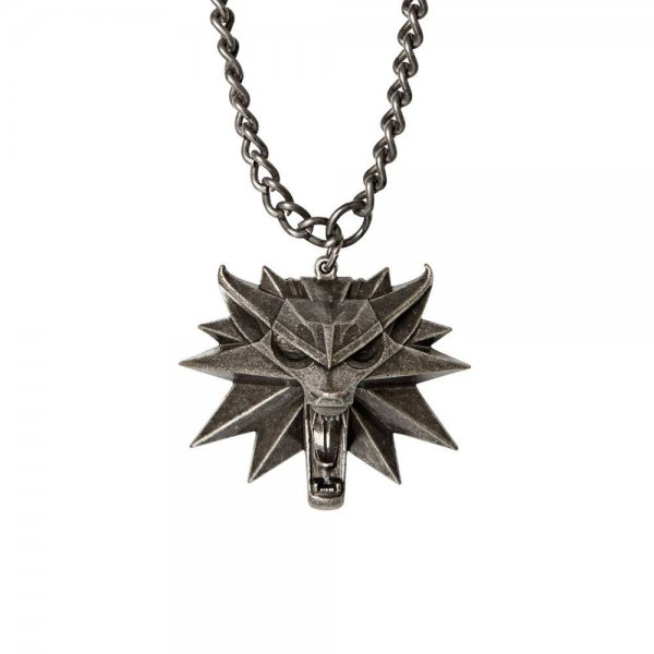 The Witcher 3 Wild Hunt Medallion Kette
