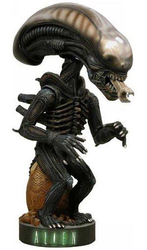 Alien Warrior Wackelkopf Figur