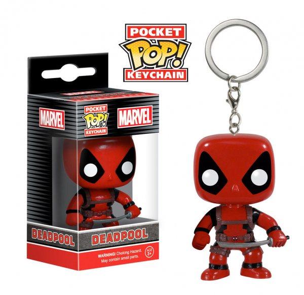 Deadpool Funko Pop Schlüsselanhänger