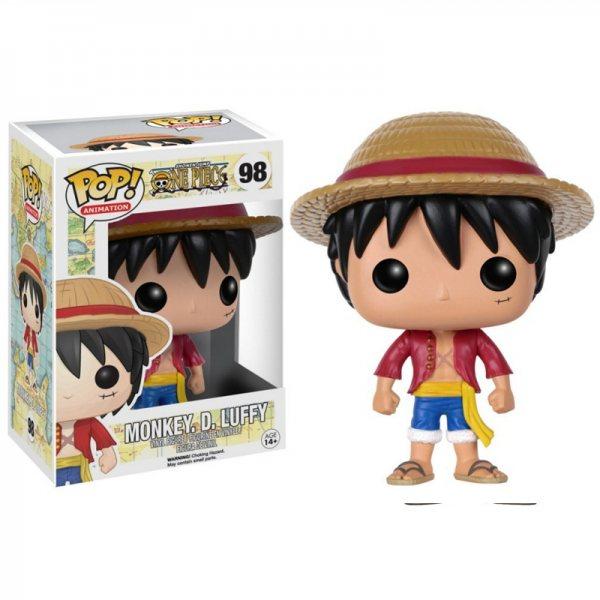 One Piece Monkey D. Ruffy Funko Pop Vinyl Figur 98