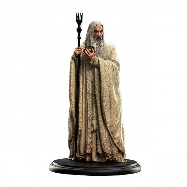 Herr der Ringe Saruman der Weiße WETA Statue Figur