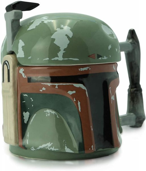 Star Wars The Mandalorian Boba Fett 3D Tasse im Geschenkkarton