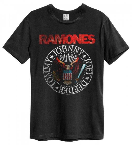 Amplified Ramones Vintage Seal Herren T-Shirt