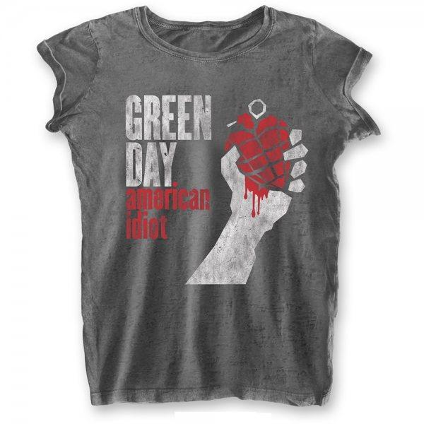 Green Day American Idiot T-Shirt Damen