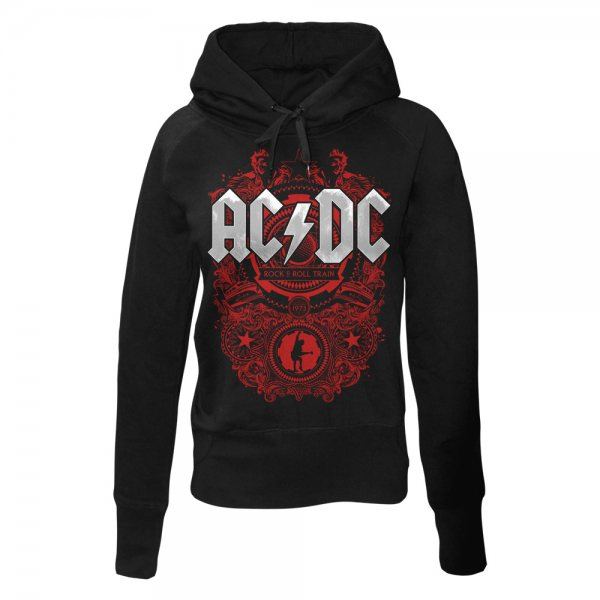 ACDC Highway to Hell Logo Damen Kapuzenpullover