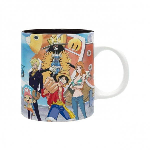 One Piece Monkey D Ruffy Tasse im Geschenkkarton