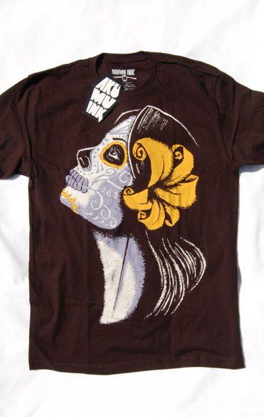 Akumu Ink Flower Muerte Herren T-Shirt