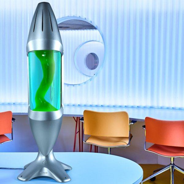 Mathmos iO Riesen Lavalampe Grün Blau kaufen