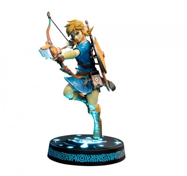 The Legend of Zelda Breath of the Wild Link Figur Statue First 4 Figures Collectors Edition