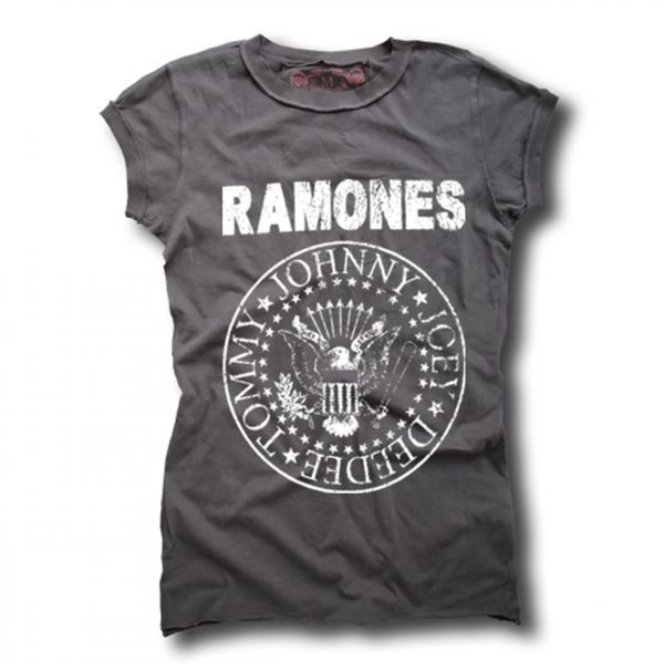 großer Rabatt e4945 57ca4 Amplified - Ramones Logo T-Shirt Damen