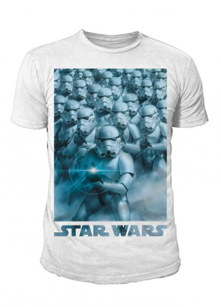 Star Wars - Band of Troopers T-Shirt Weiß