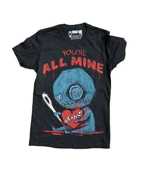 Akumu Ink Voodoo All Mine Nightmare Damen T-Shirt