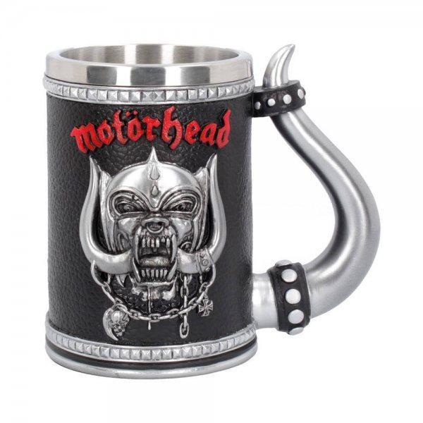 Motörhead Warpig Bierkrug Resin mit Stahleinsatz Nemisis Now