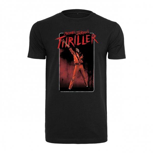 Michael Jackson Thriller T-Shirt Herren Schwarz