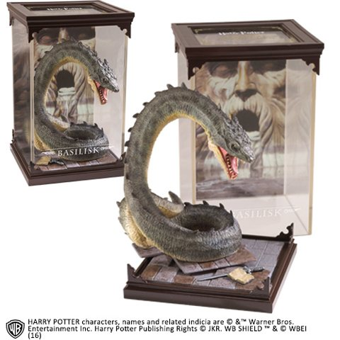 Harry Potter Basilisk Statue Figur Noble Collection