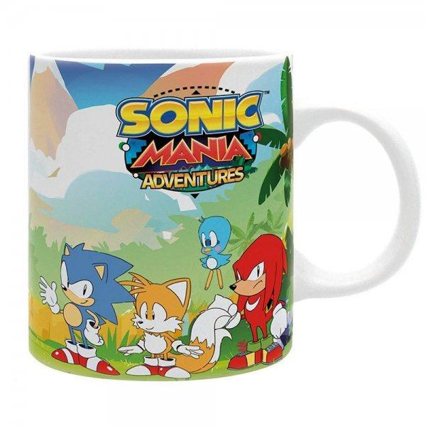 Sonic Mania Adventure Keramik Tasse