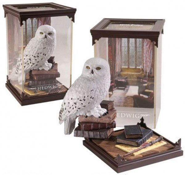 Harry Potter Hedwig Statue Figur Noble Collection