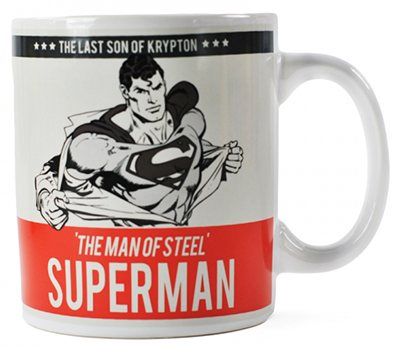 DC Comics - Superman Keramik Tasse - Man of Steel