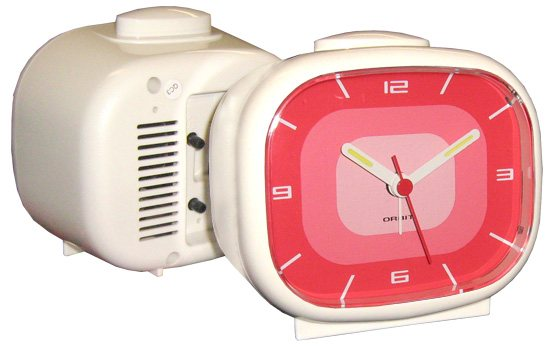 Orbit Lounge - Retro Wecker Apollo - Pink