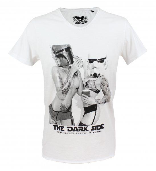 Brotherhood - Herren V Neck T-Shirt - Harder Resist