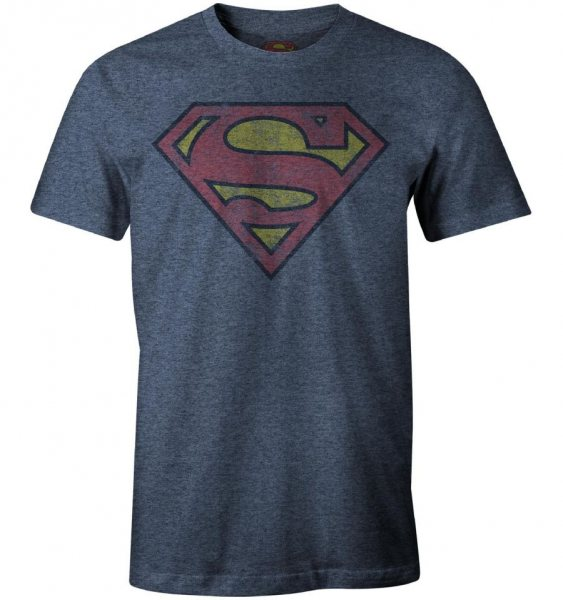 Superman Vintage Logo T-Shirt