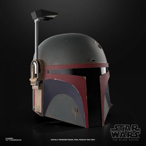 Star Wars The Mandalorian Boba Fett Hasbro Replik Helm Black Series