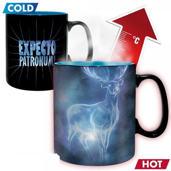 Harry Potter Expecto Patronum Thermo Effekt Tasse