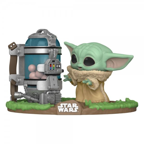 Star Wars The Mandalorian Baby Yoda Egg Canister Funko Pop Figur #407