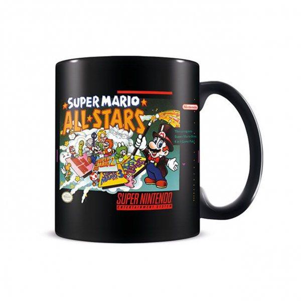 Super Mario Allstars Nintendo Retro Tasse Geschenkbox