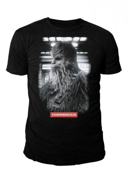 Star Wars Chewbacca Herren T-Shirt Schwarz