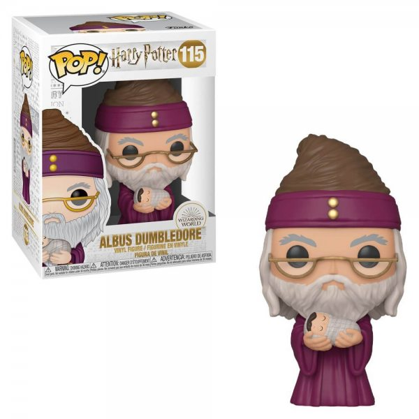 Harry Potter Albus Dumbledore Funko Pop Vinyl Figur 115