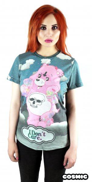 Cosmic Care Bears Glücksbären Damen T-Shirt