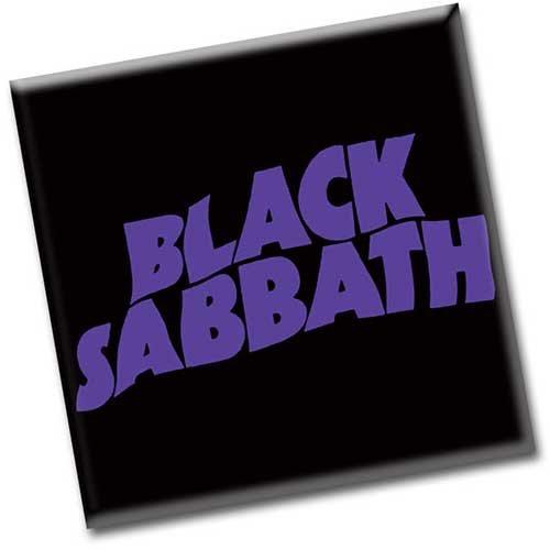 Black Sabbath Logo Magnet