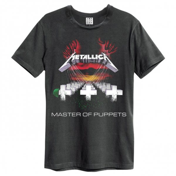 Amplified Metallica Master of Puppets T-Shirt Herren Grau
