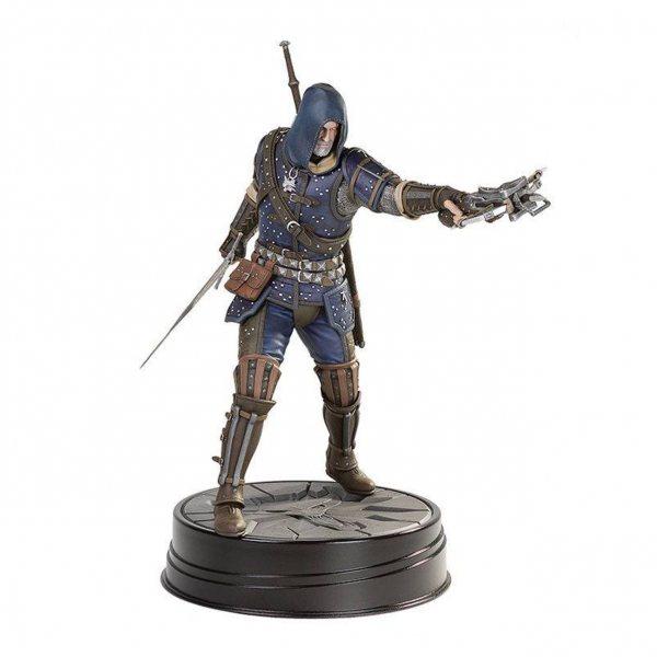 The Witcher 3 Wild Hunt Geralt von Riva Feline Statue Figur Dark Horse