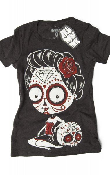 Akumu Ink La Calavera Damen T-Shirt