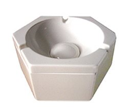 Orbit Lounge - Aschenbecher - Hub Ashtray - Weiss