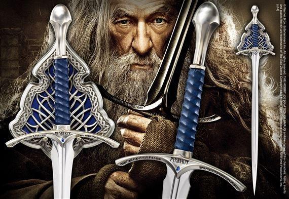 Herr der Ringe  Glamdring Schwert Replik Noble Collection