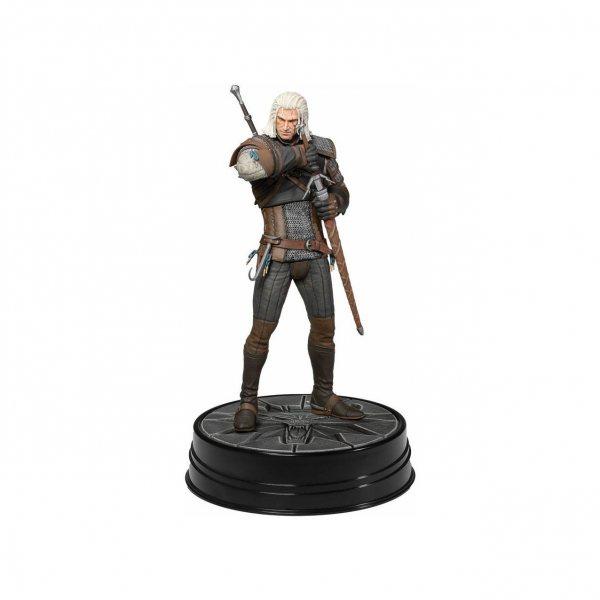 The Witcher 3 Hearth of Stone Geralt von Riva Dark Horse Statue Figur