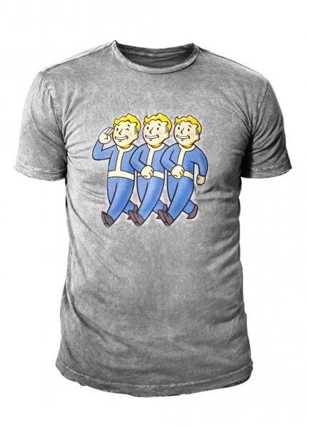 Fallout 76 Vault Boys Logo Herren Premium T-Shirt