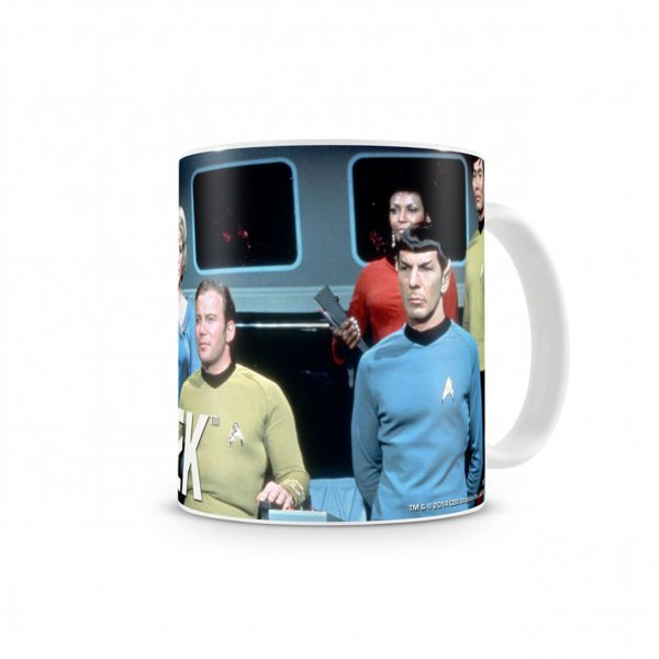 Star Trek Crew Retro Tasse im Geschenkkarton