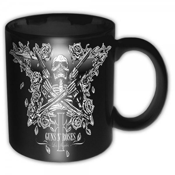 Guns N Roses Los Angeles Tasse Black