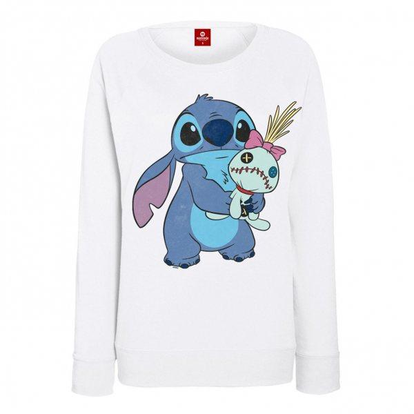 Lilo & Stitch Ohana & Scrump Damen Pullover