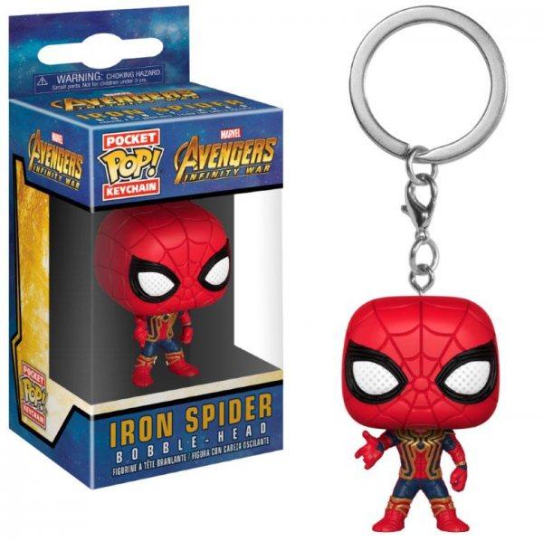 Avengers - Iron Spiderman Funko Pop Schlüsselanhänger