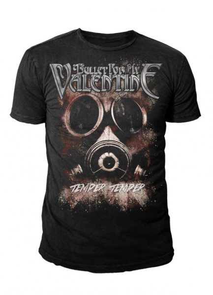 Bullet for My Valentine - Herren Logo T-Shirt - Mask