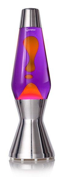 Mathmos Astro Lavalampe Violet Orange