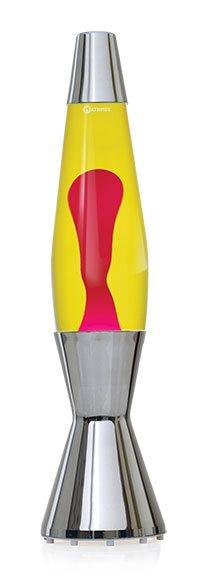 Mathmos Astrobaby Telstar Lavalampe Ersatzflasche Gelb/Rot