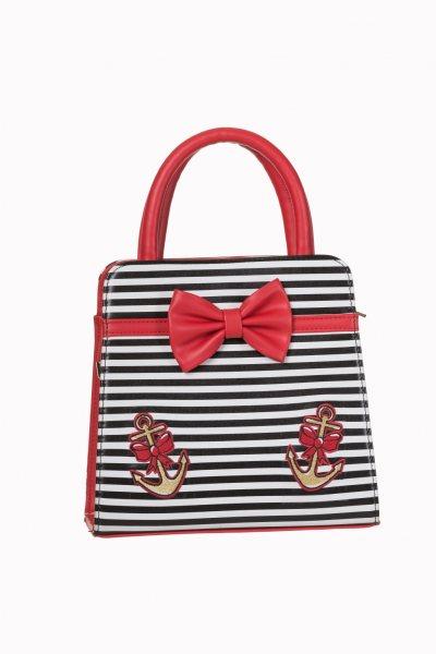 Banned Sailor Rockabilly Damen Bowling Handtasche
